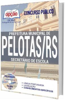 Apostila Prefeitura de Pelotas 2017 Secretário de Escola