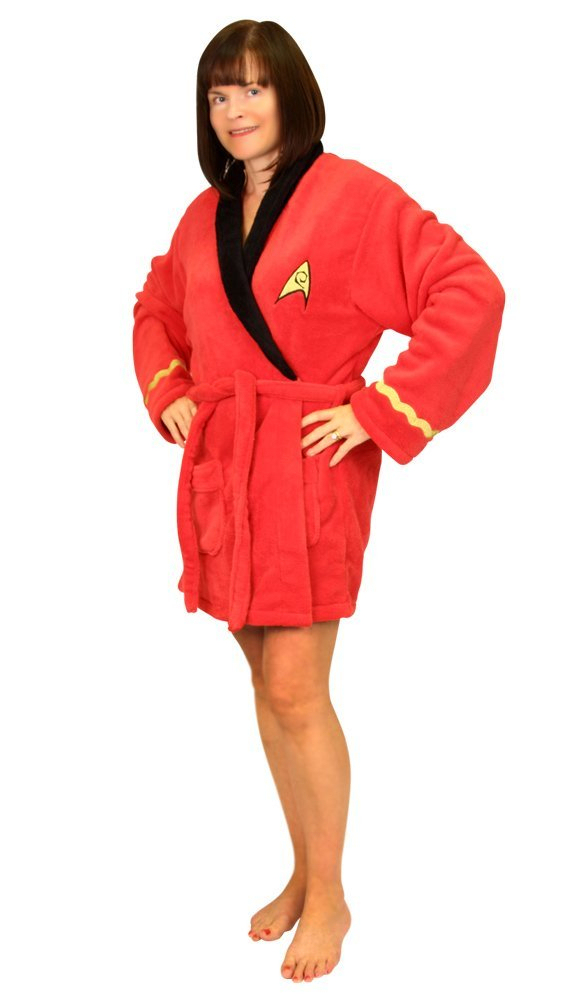 The Trek Collective: Starfleet issue dressing gowns, now for girls.