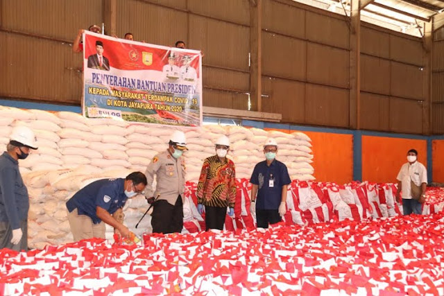 Benhur Tomi Mano Akan Salurkan 5000 Paket Sembako Bantuan Presiden ke Warga Kota Jayapura