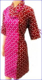 Baju Batik Kreasi Baju Gamis Pesta Modern Terbaru Model Baju