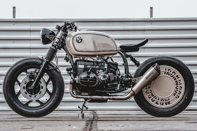 BMW R80 By Ironwood Custom Motorcycles Hell Kustom
