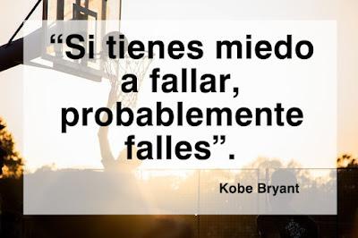 frase motivación kobe bryant