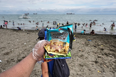 Favorite snacks of Cebuanos at the beach