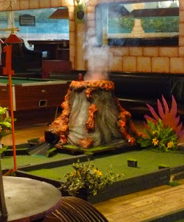 Mini Golf in Dalston, London