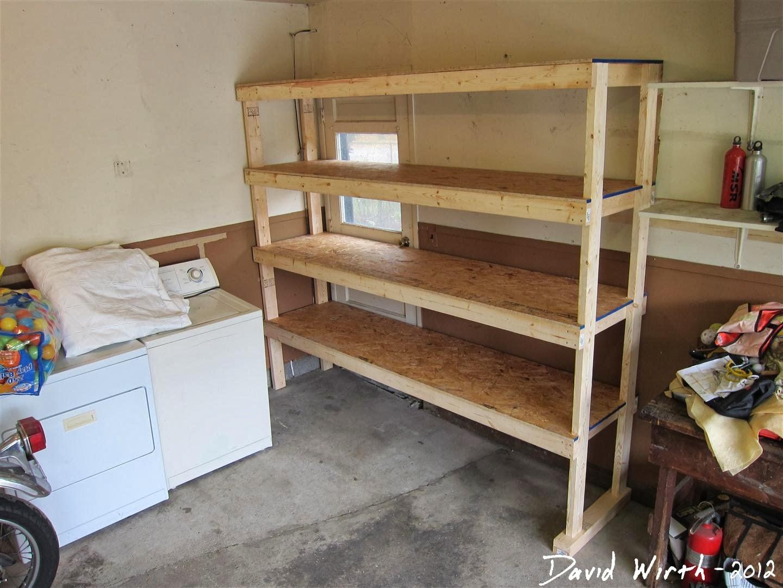 Surprising Basement Shelf Garage Shelves Beutiful Home Inspiration Aditmahrainfo