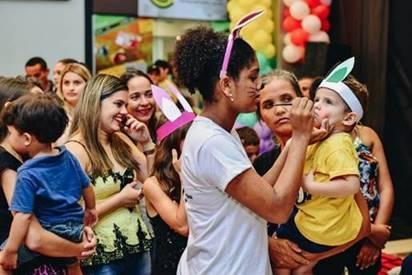Partage Shopping Paraupebas celebra aumento de fluxo na Páscoa