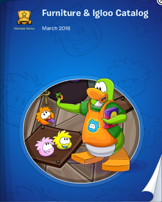 Club Penguin Furniture & Igloo Catalog Cheats March 2016