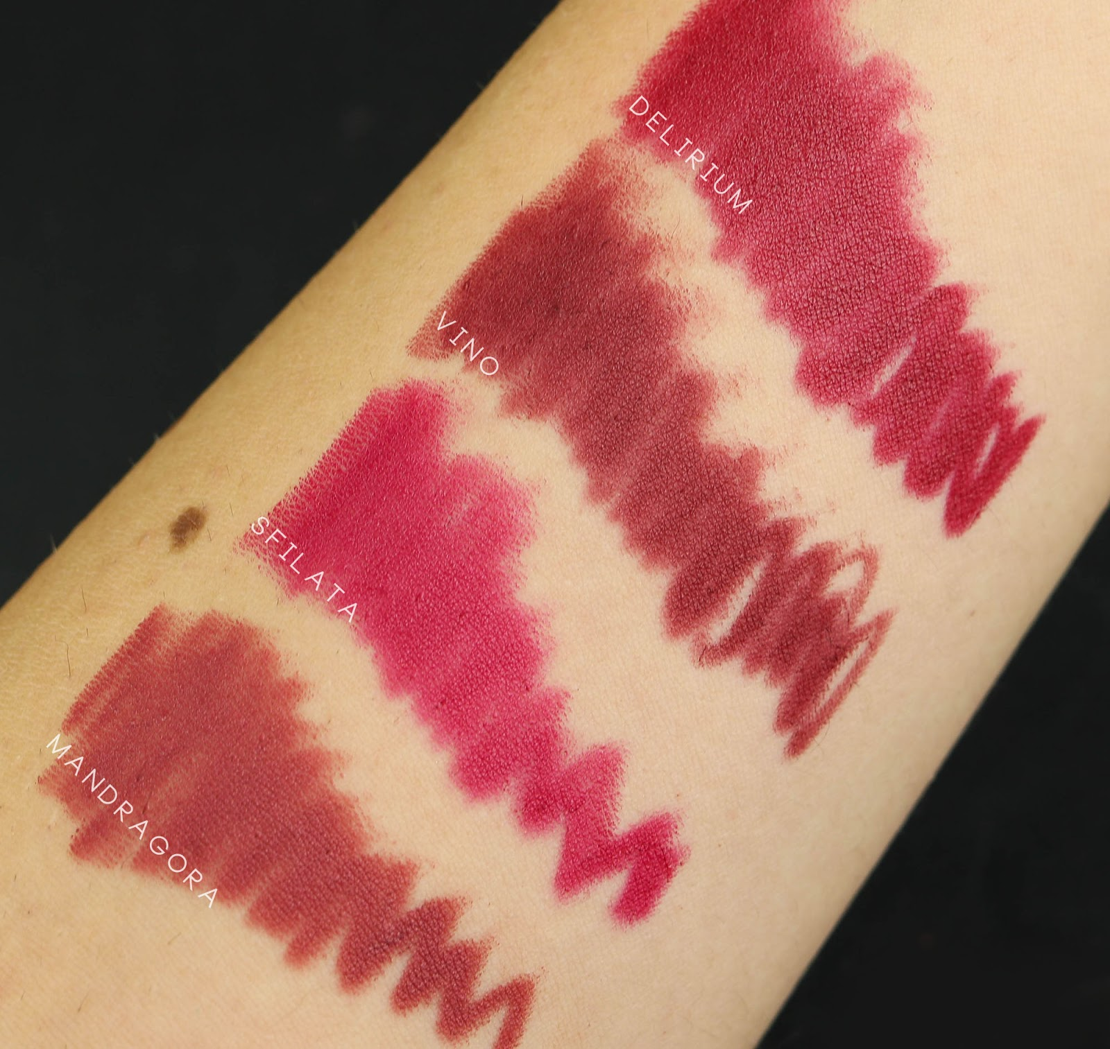 Neve Neogothic Mandragora swatch review