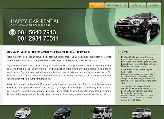 Sewa Mobil Cirebon