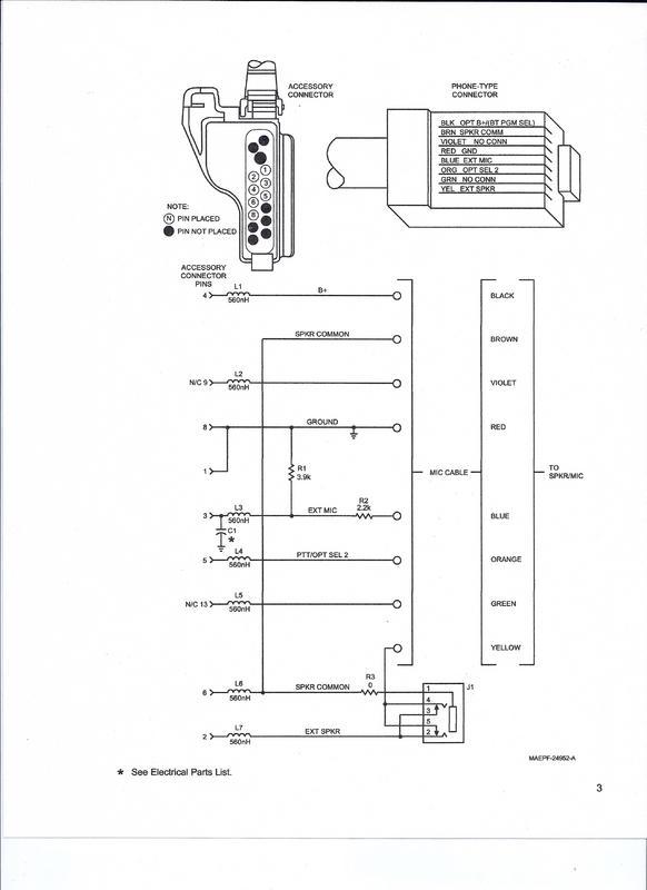 speaker mic wiring diagram motorola speaker mic wiring diagrams