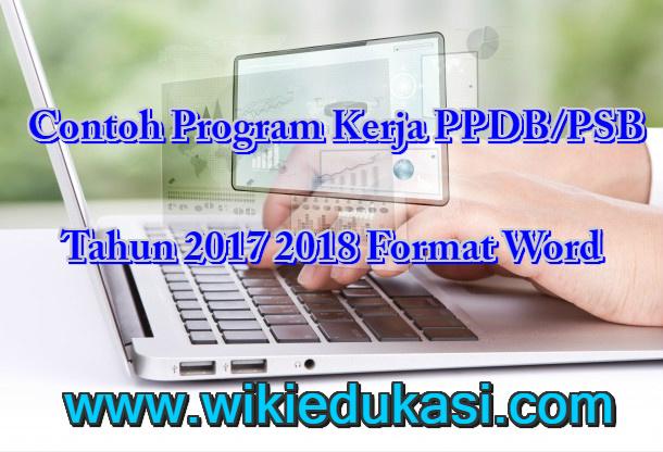 Program Kerja PPDB/PSB