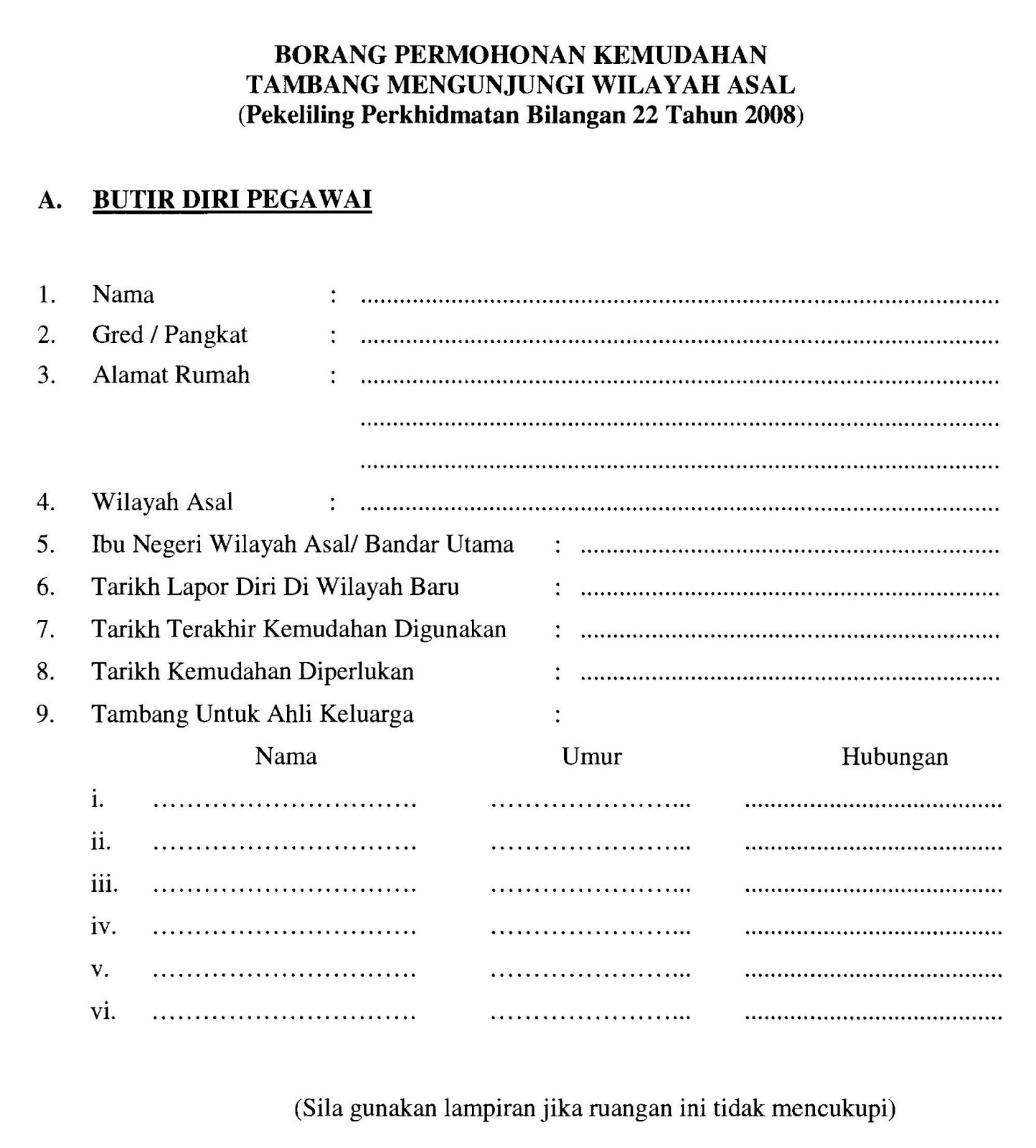 Borang Permohonan Tiket Percuma Untuk Balik Wilayah Asal Untuk Guru Mykssr Com
