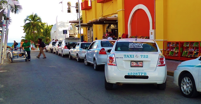Táxi em Cancún