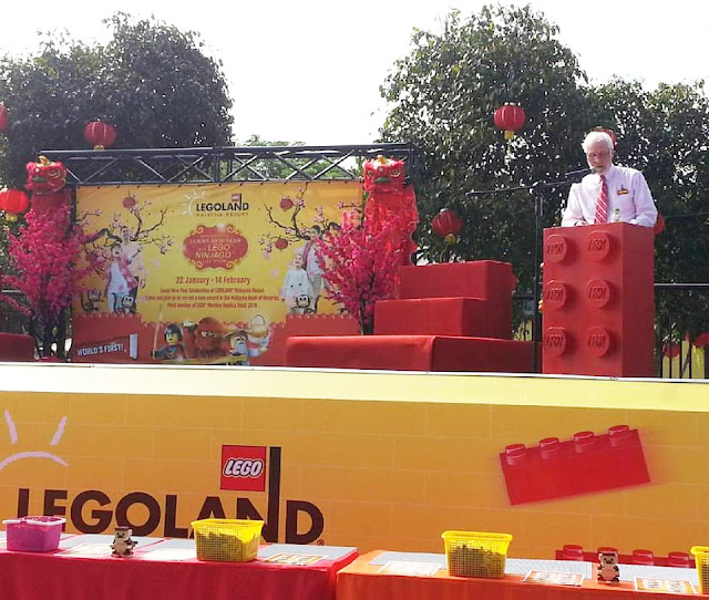 Mark Genmyn, General manager of LEGOLAND® Malaysia Resort