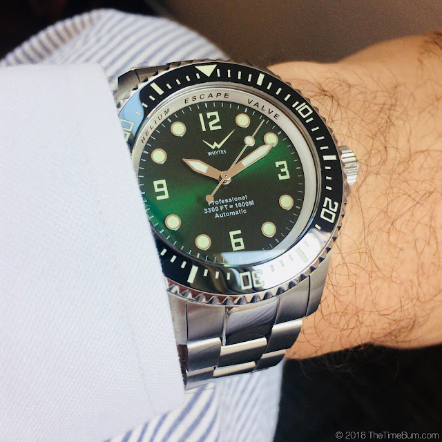 Whytes Deep Sea Tautog wrist shot
