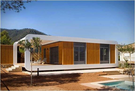 Prefabrik eko mod ler evler noem teknolsun - Casas modulares de diseno moderno ...