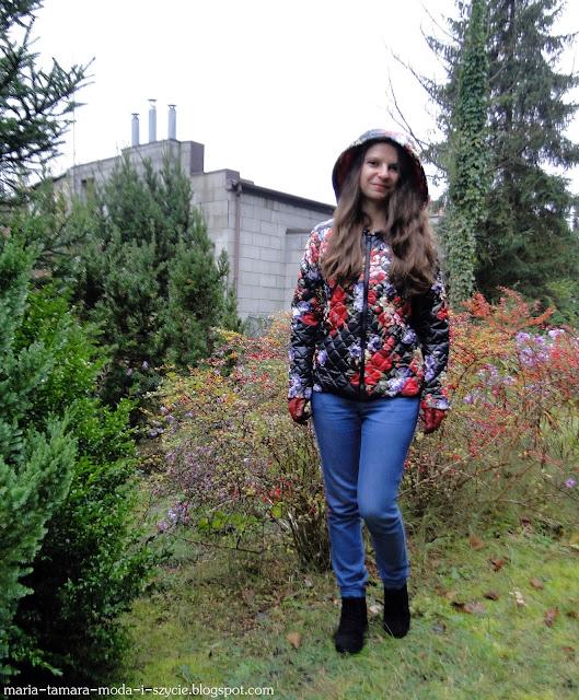 kurtka pikowana na jesień