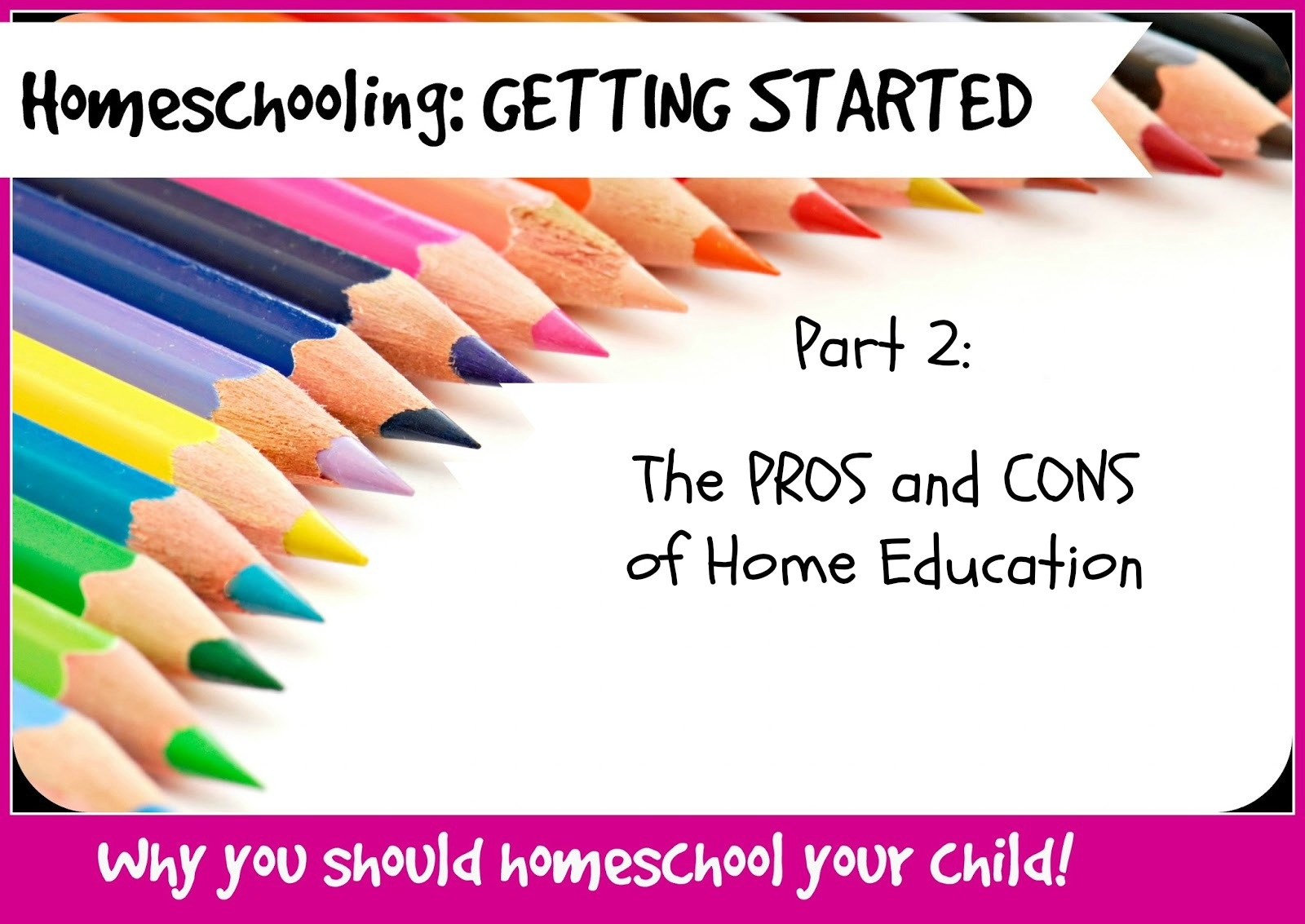 Education Starts at Home For Children's