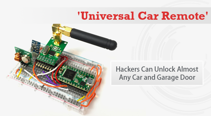 RollJam — $30 Device That Unlocks Almost Any Car And Garage Door