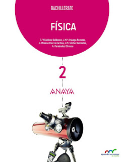 Libro Física 2º Bachillerato Anaya Proyecto Aprender es Crecer