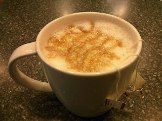 chai tea misto with coconut milk