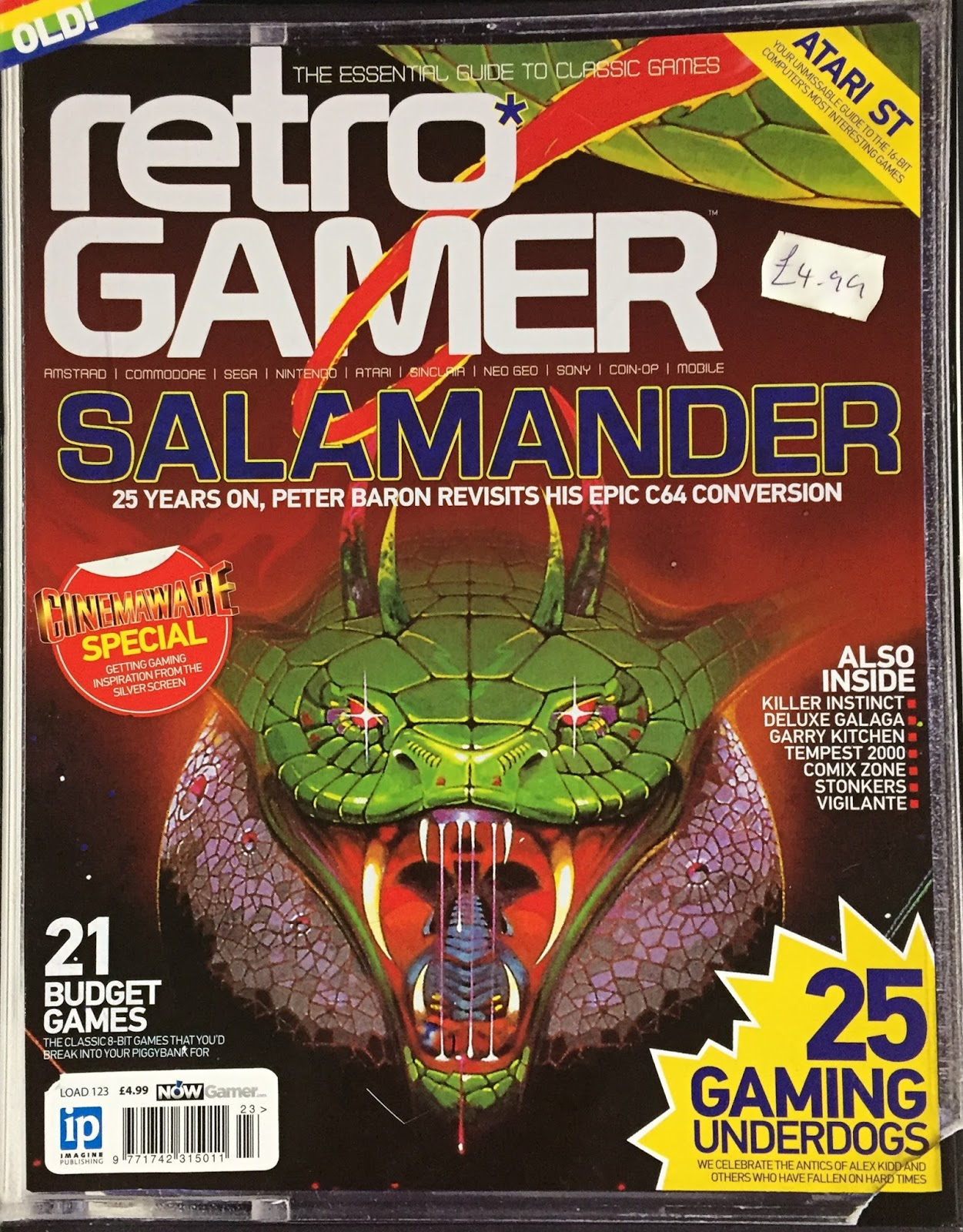 Retro Gamer Randomness: Review: Retro Gamer Magazine