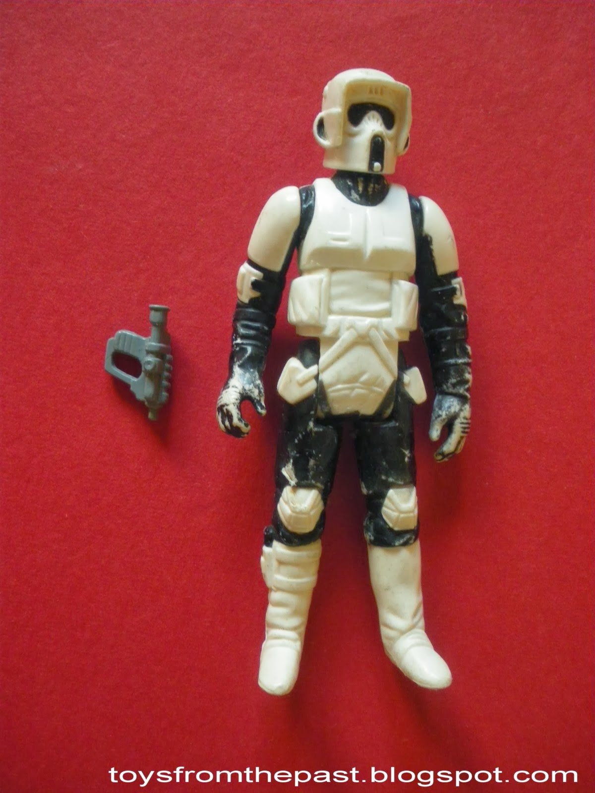 Big Toy Cars >> Toys from the Past: #359 STAR WARS – BIKER SCOUT, AT-ST ...
