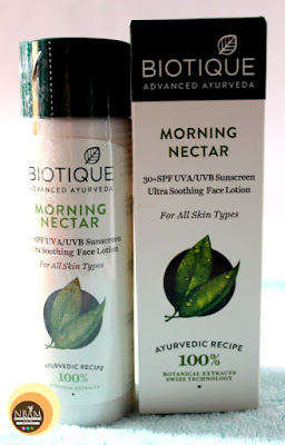 Biotique Morning Nectar Ultra Soothing Face Lotion