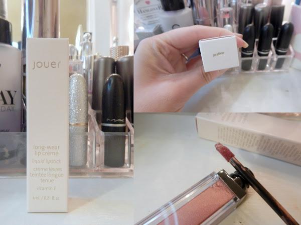 Jouer Cosmetics Lip Creme Liquid Lipstick