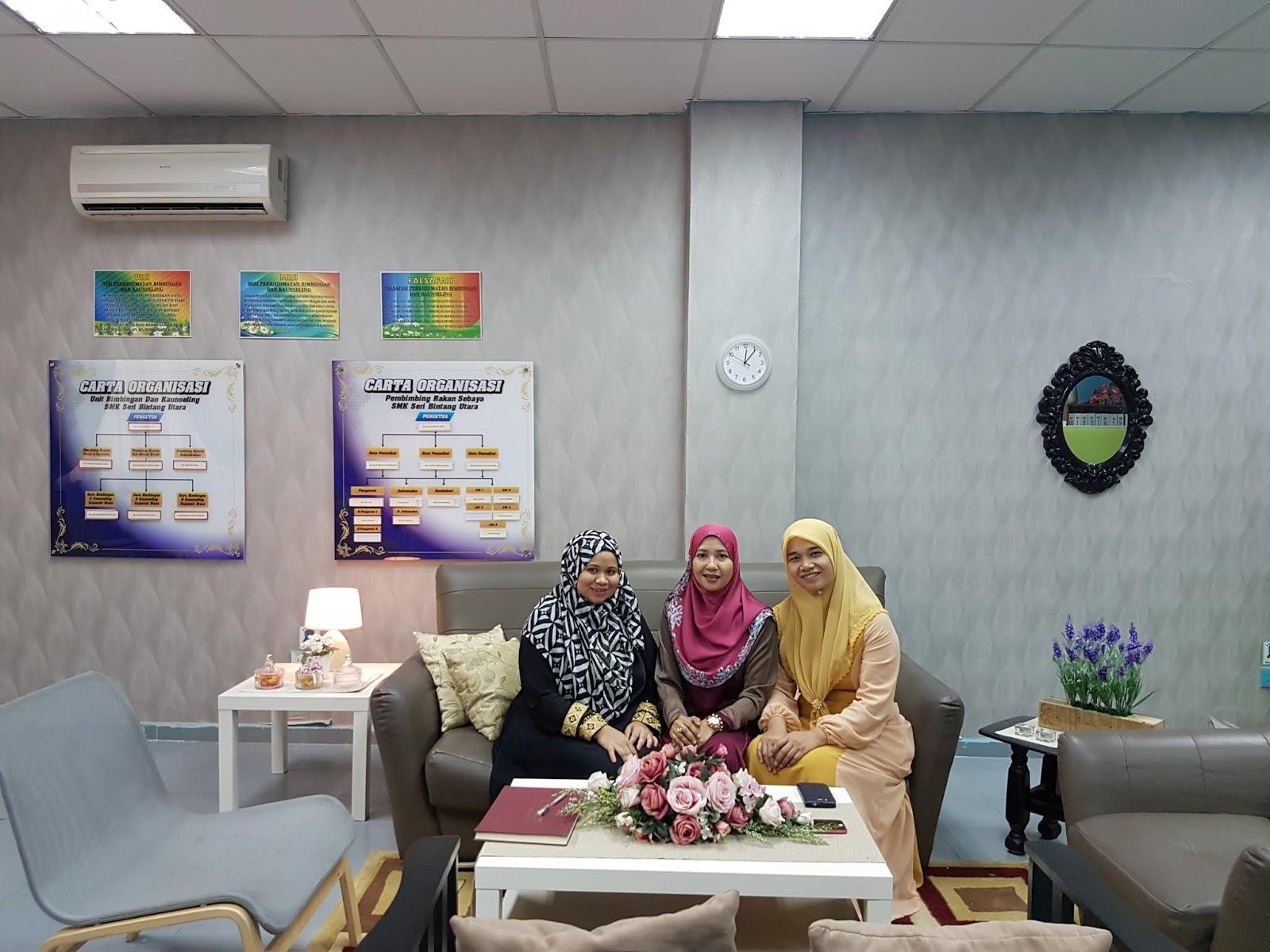 Kaunselor Nurhaiza Che Mat Bilik Kaunseling Teraputik Dan Kondusif Smk Sri Bintang Utara Kl