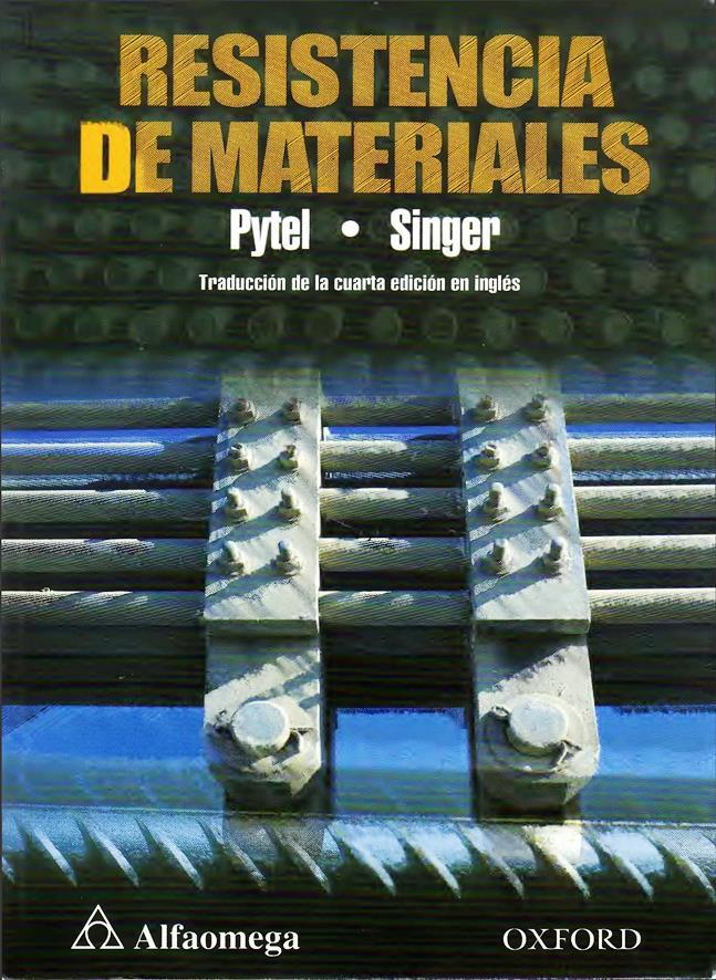 Resistencia de Materiales, 4ta Edición – Andrew Pytel