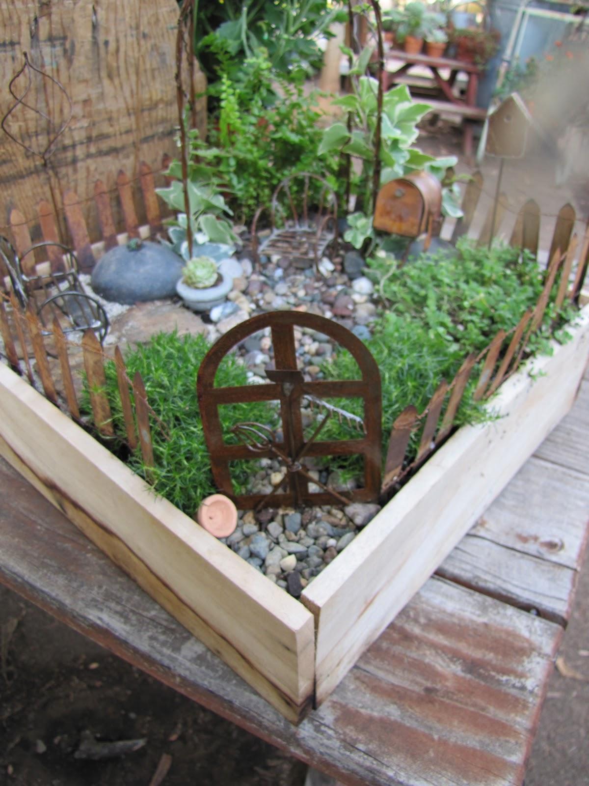 The Antique Gardener Miniature Tiny Secret Fairy Gardens