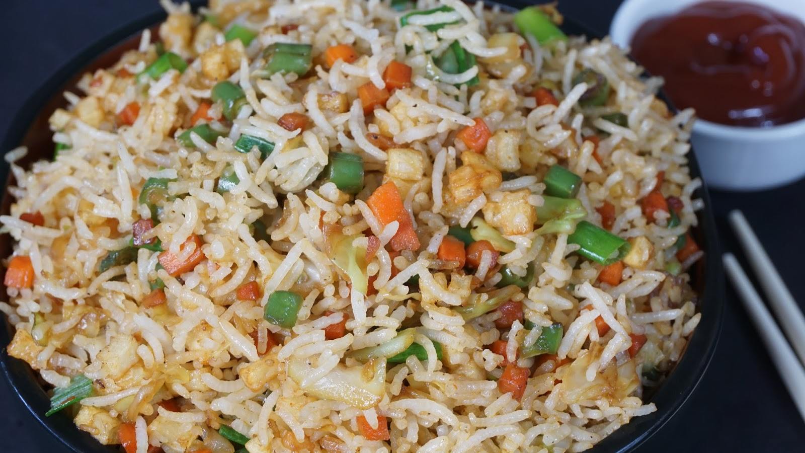 Vegetable Fried Rice | Steffi's Recipes
