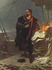a look at the life and voyages of christopher columbus Christopher columbus - the fourth voyage and final years:  alone of all the voyages  narratives include the life of the admiral christopher columbus,.