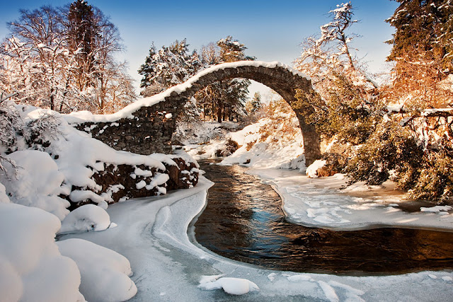 Ponte Carrbridge Scozia