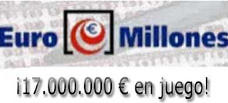euromillones del viernes 17 de marzo de 2017