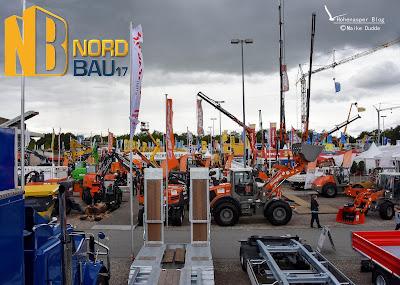 Neuheiten an Baumaschinen auf der NordBau 2017