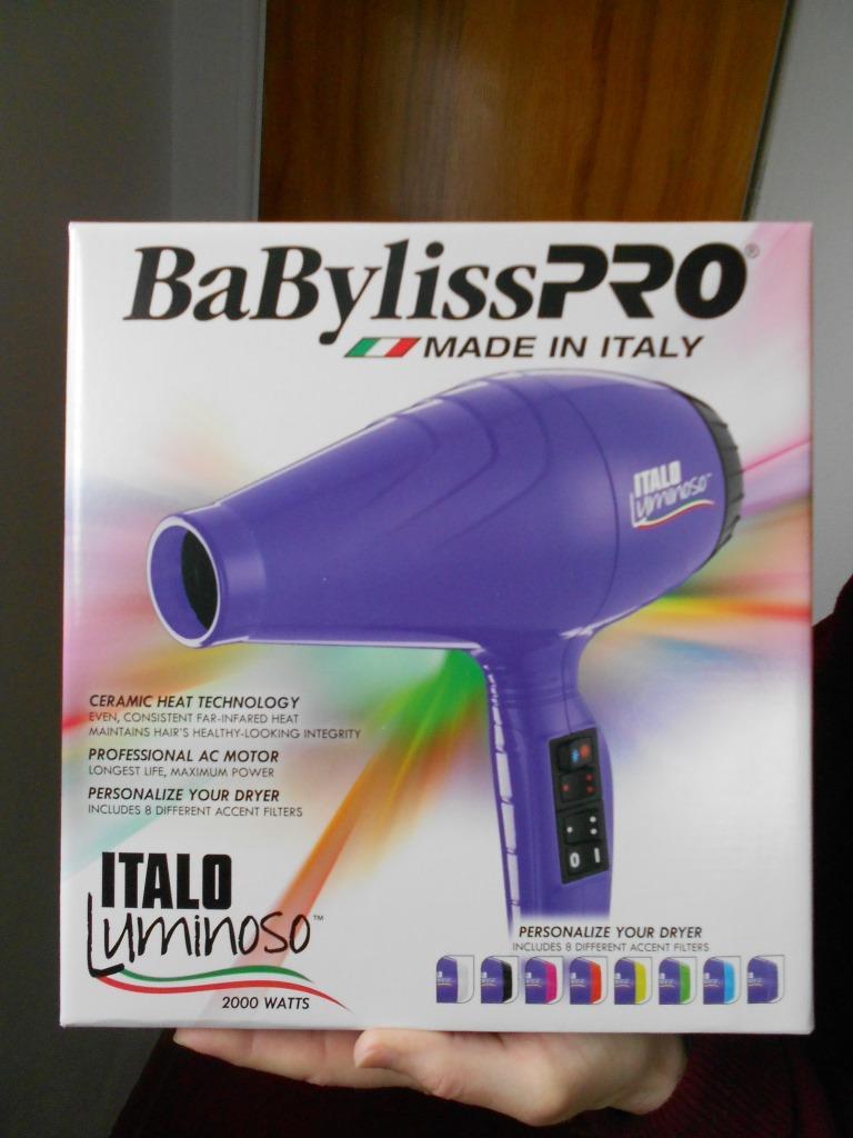 BaBylissPRO ITALO Luminoso Dryer