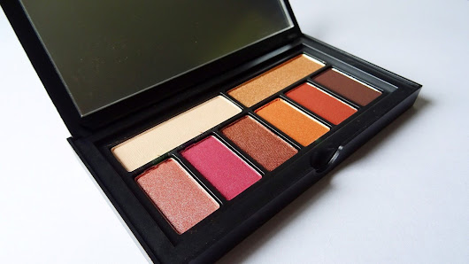 "SMASHBOX Cover shot ""Ablaze"" palette Review + swatches"