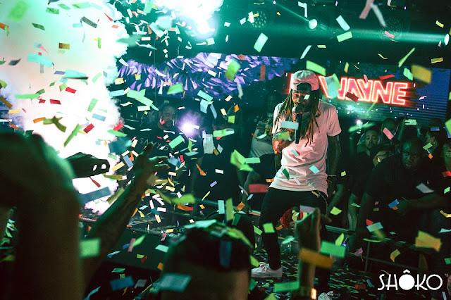 fotos de lil wayne en barcelona shoko españa marbella actuacion concierto