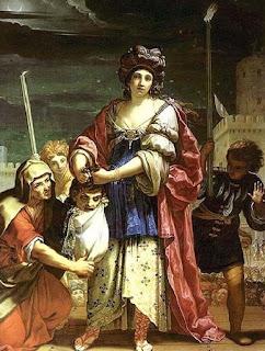 Judith par Elisabetta Sirani