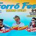 Forró Fest será realizado em Barro Duro dia 09 de setembro