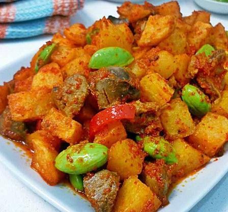 Bumbu sambal goreng kentang dan cara membuatnya