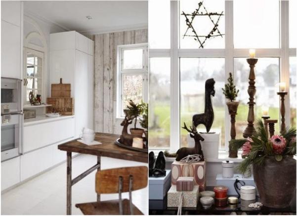 Una casa etnica e nordica decorata per il natale blog di for Case arredate mondo convenienza