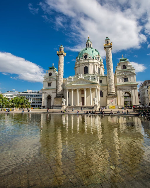 Karlskirche Vienna by Laurence Norah-4