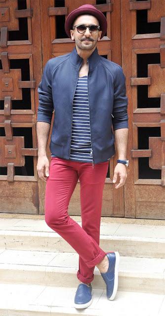 ranvir singh style dressing sense