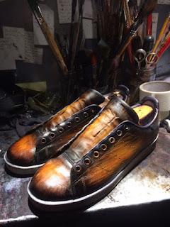 patine sneakers, patine souliers, patina by paulus bolten, paulus bolten paris