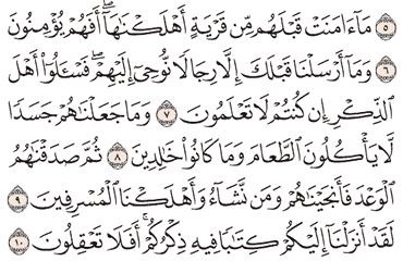 Tafsir Surat Al-Anbiya' Ayat 6, 7, 8, 9, 10