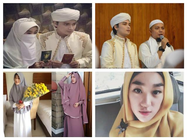Kisah Mualaf Amoy Cantik, Larissa Chou Istri Putra KH Arifin Ilham Jadi Mualaf
