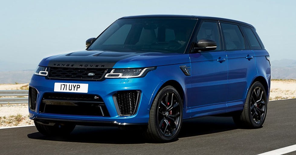 2018 range rover sport svr facelift looks ready to rumble. Black Bedroom Furniture Sets. Home Design Ideas